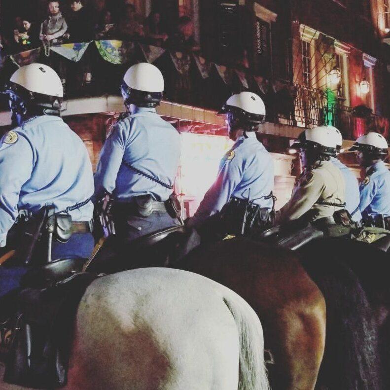 cop lineup